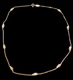 18KYG Gucci Necklace