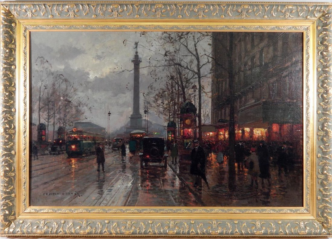 Edouard Leon Cortes, Oil on Canvas