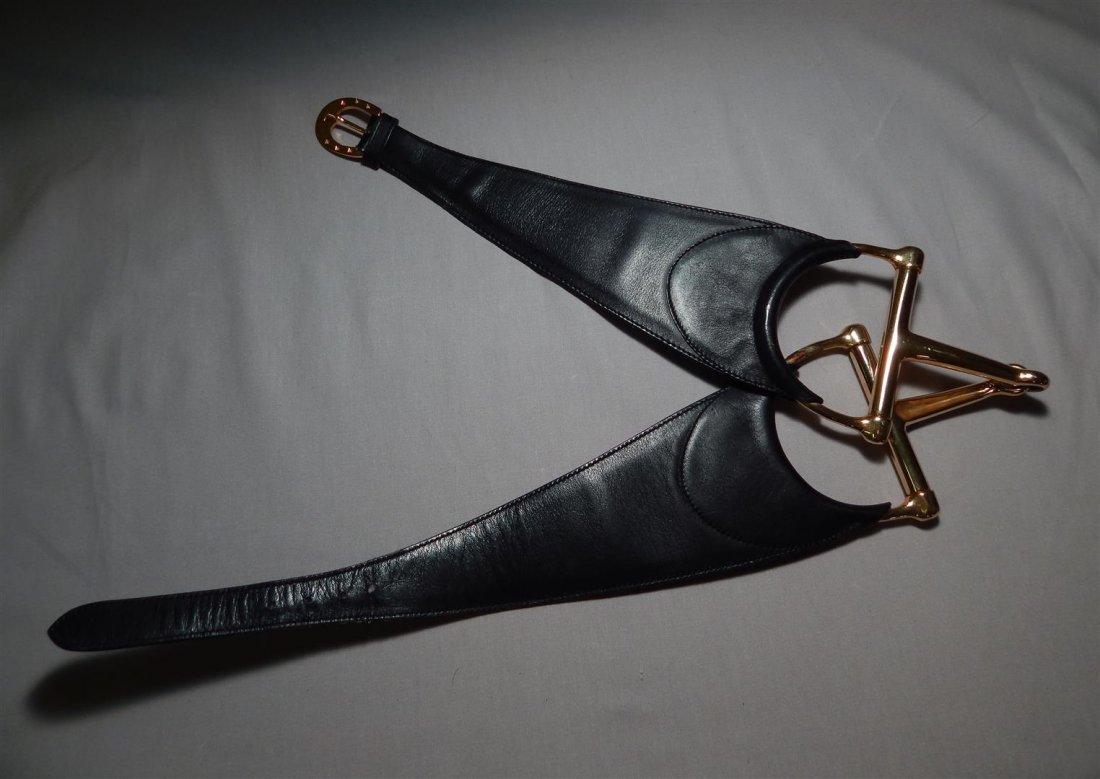 Unique Gucci Leather Belt