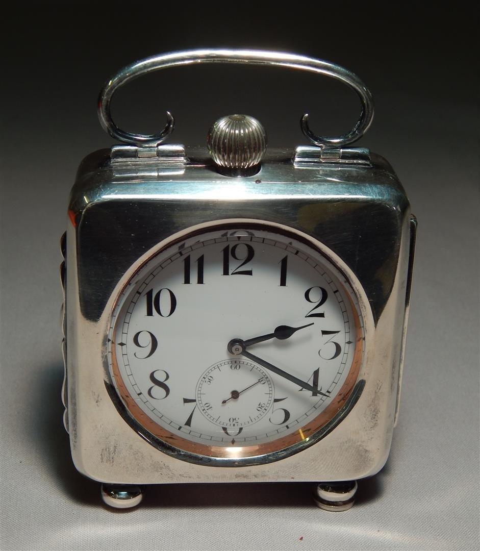 Sterling Desk Clock