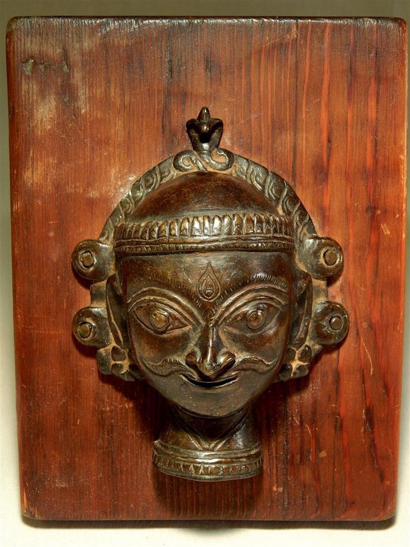 Bronze Antiquity Head