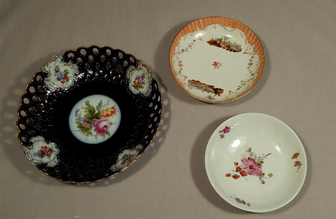 Early European Porcelain Dishes