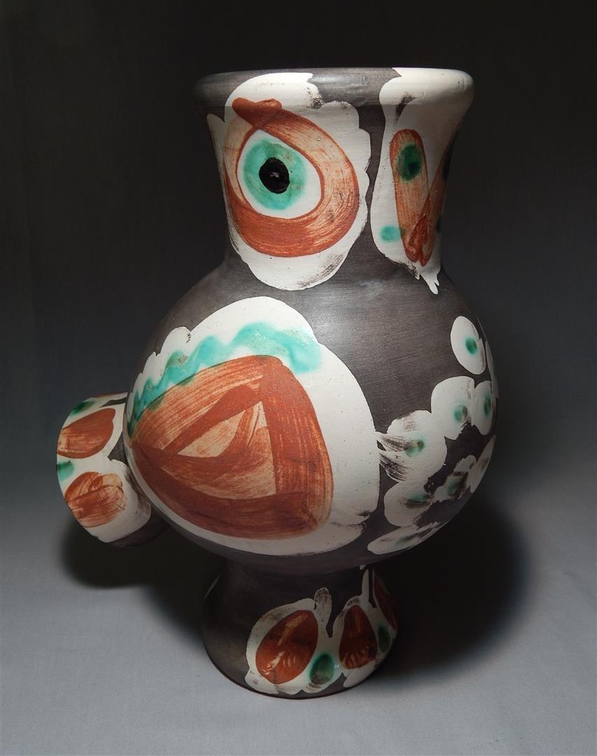Pablo Picasso Ceramic Owl