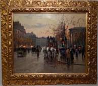 Edouard Leon Cortes, Oil on Canvas.