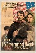 WORLD WAR I SECOND & THIRD LIBERTY LOAN POSTER PAIR.
