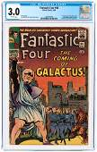"""""""FANTASTIC FOUR"""" #48 MARCH 1966 CGC 3.0 GOOD/VG (FIRST"""