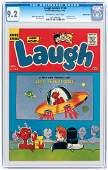 """""""LAUGH COMICS"""" #128 NOVEMBER 1961 CGC 9.2 NM- WESTERN P"""