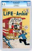 """""""LIFE WITH ARCHIE"""" #4 SEPTEMBER 1960 CGC 9.2 NM-."""