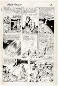"JACK KIRBY ""INCREDIBLE HULK"" #3 COMIC BOOK PAGE ORIGINA"