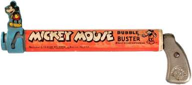MICKEY MOUSE BUBBLE BUSTER BOXED GUN
