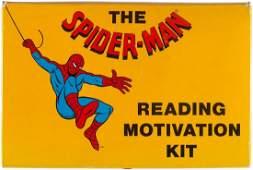 THE SPIDERMAN READING MOTIVATION KIT SET 1 BOXED