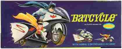AURORA BATCYCLE FACTORYSEALED BOXED MODEL KIT
