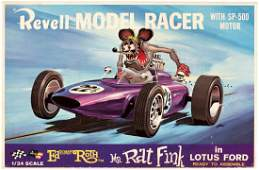 """ED """"BIG DADDY"""" ROTH'S """"MR. RAT FINK IN LOTUS FORD"""" FACT"""