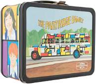 THE PARTRIDGE FAMILY METAL LUNCHBOX WITH THERMOS