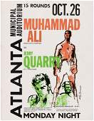 MUHAMMAD ALI VS JERRY QUARRY 1970 BOXING PROGRAM