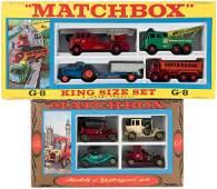 "MATCHBOX ""KING SIZE SET"" G-8 & ""MODELS OF YESTERYEAR"" S"
