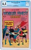 """WORLDS FINEST COMICS"" #59 JULY-AUGUST 1952 CGC 6.5 FIN"