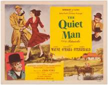 JOHN WAYNE THE QUIET MAN LOBBY CARD SET
