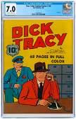"""""""FOUR COLOR COMICS"""" SERIES 1 #6 1940 CGC 7.0 FINE/VF (D"""