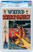 """WEIRD SCIENCE-FANTASY"" #28 MARCH-APRIL 1955 CGC 8.5 VF"