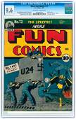 """""""MORE FUN COMICS"""" #72 OCTOBER 1941 CGC 9.6 NM+."""