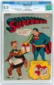 """SUPERMAN"" #37 NOVEMBER-DECEMBER 1945 CGC 8.0 VF."