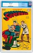 """SUPERMAN"" #38 JANUARY-FEBRUARY 1946 CGC 8.5 VF+ CROWLE"