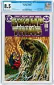 """""""SWAMP THING"""" #1 OCTOBER-NOVEMBER 1972 CGC 8.5 VF+."""