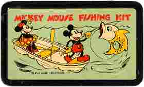"""MICKEY MOUSE FISHING KIT."""