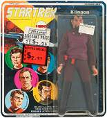 STAR TREK FIRST SERIES CARD KLINGON MEGO
