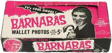 """DARK SHADOWS"" PHILADELPHIA CHEWING GUM CARD DISPLAY BO"