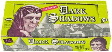 """DARK SHADOWS 2ND SERIES"" PHILADELPHIA CHEWING GUM CARD"