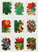 """""""SUPERMAN IN THE JUNGLE"""" A&BC ENGLISH GUM CARD PUZZLE S"""
