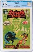 """""""BATMAN"""" #232 JUNE 1971 CGC 7.5 VF- (FIRST RA's AL GHUL)."""