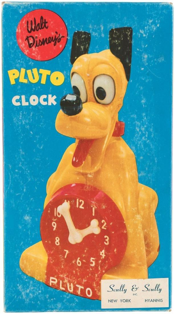 """WALT DISNEY'S PLUTO CLOCK."""