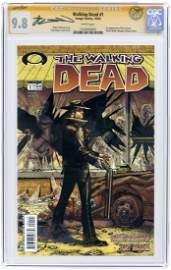 """THE WALKING DEAD"" #1 OCTOBER 2003 CGC 9.8 NM/MINT - ROBERT KIRKMAN SIGNATURE SERIES."
