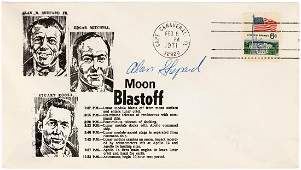 NASA ASTRONAUT ALAN SHEPARD SIGNED FIRST DAY COVER.