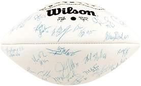 NEW YORK GIANTS 1994 TEAM SIGNED NFL FOOTBALL.