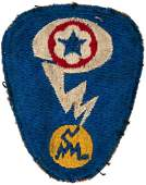 """MANHATTAN PROJECT ARM PATCH AND """"A BOMB"""" SERVICE AWARD"""