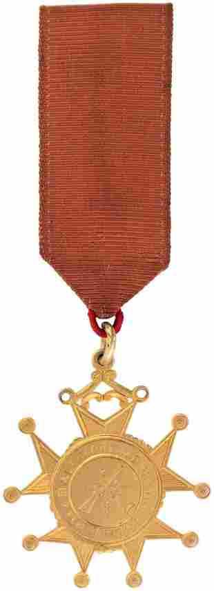14K GOLD AWARD SEASON 188687 TO MEMBER OF HIGHCLASS