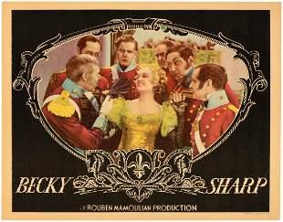 BECKY SHARP LOBBY CARD