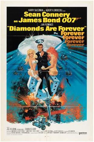 JAMES BOND DIAMONDS ARE FOREVER