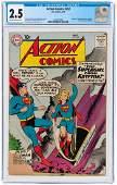 """ACTION COMICS"" #252 MAY 1959 CGC 2.5 GOOD+ (FIRST"