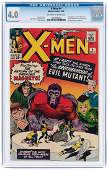 """X-MEN"" #4 MARCH 1964 CGC 4.0 VG (FIRST BROTHERHOOD OF"