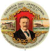 GEORGIA DAY JAMESTOWN JUNE 10TH 1907 ROOSEVELT