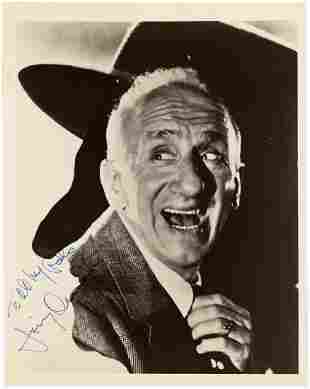 JIMMY DURANTE SIGNED PHOTO