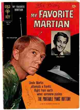 MY FAVORITE MARTIAN CASTSIGNED COMIC BOOK