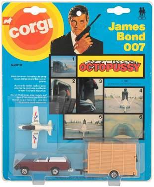 JAMES BOND 007 OCTOPUSSY CORGI REPLICA SET