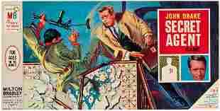 JOHN DRAKE SECRET AGENT GAME IN UNUSED CONDITION