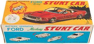 FORD MUSTANG STUNT CAR BOXED BATTERYOPERATED CAR